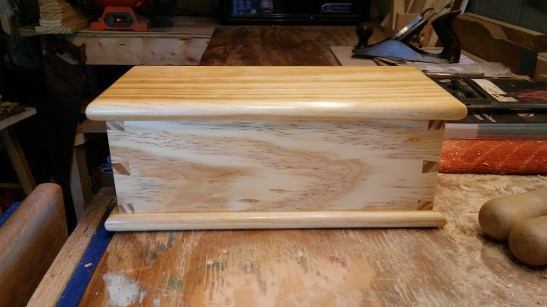 Dovetail Box by Matthew Wiles
