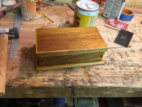 DOVETAIL BOX BY DEANBECKER