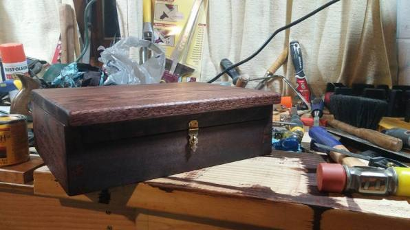 Dovetail Box by Bob Yeager