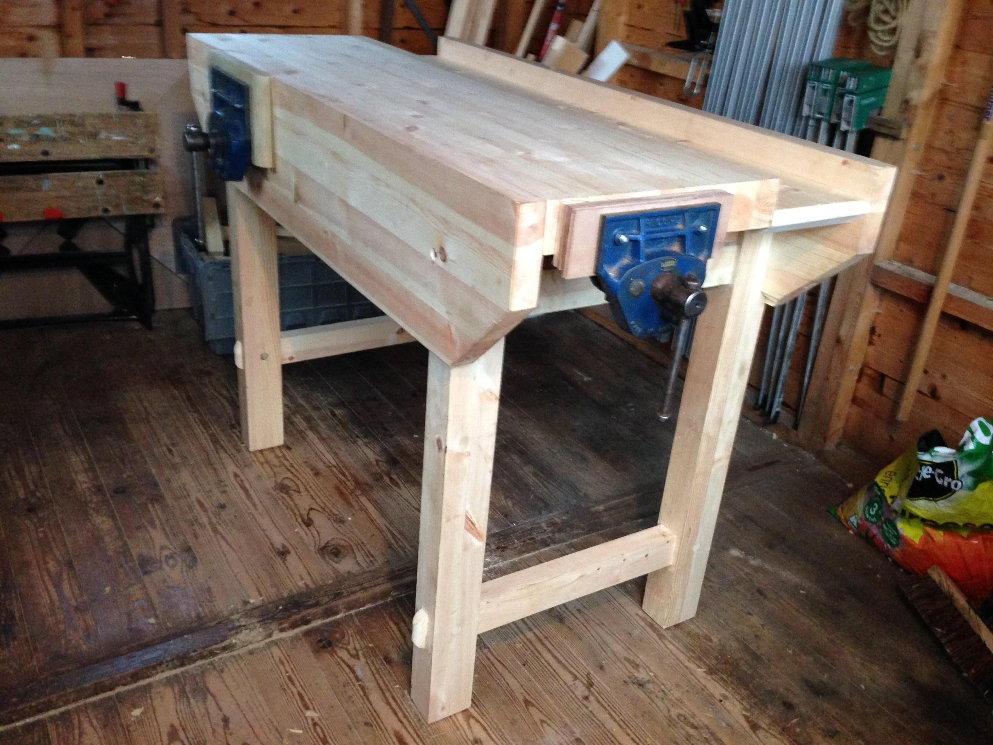 Workbench by Pat Haslam