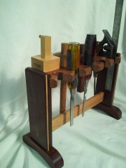Chisel and Marking gauge holder by Pasquale Avocone