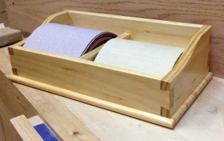 Sandpaper Caddy by Greg Merritt