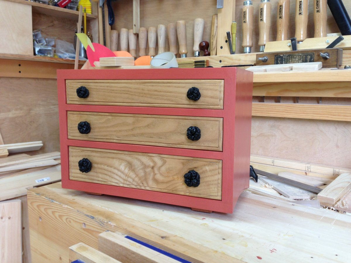 Small Three Drawer Chest by Greg Merritt