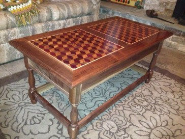 Coffee table by Terry Phillips