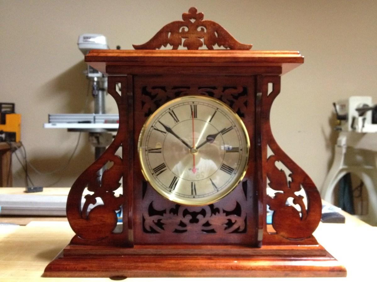 Royal Mantle Clock by Salko