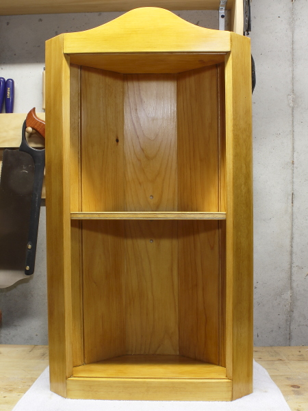 Corner cupboard by Rob Young