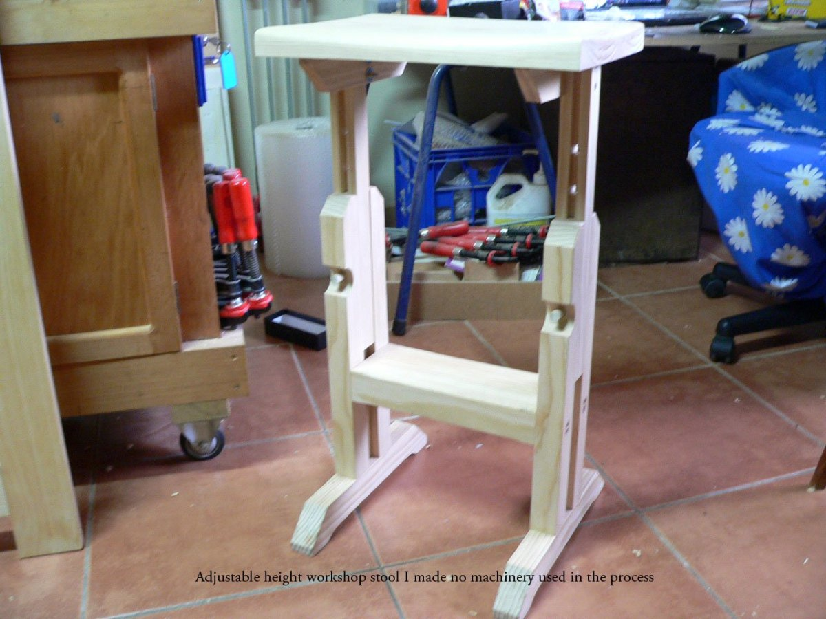 Work Bench Stool by Salko Safic