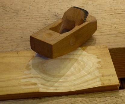 Wooden Plane by Ian Lambert