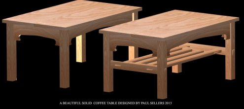Coffee Table by Stheven Cooke