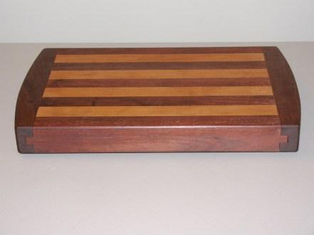 Breadboard-End Cutting Board by Tom Benim