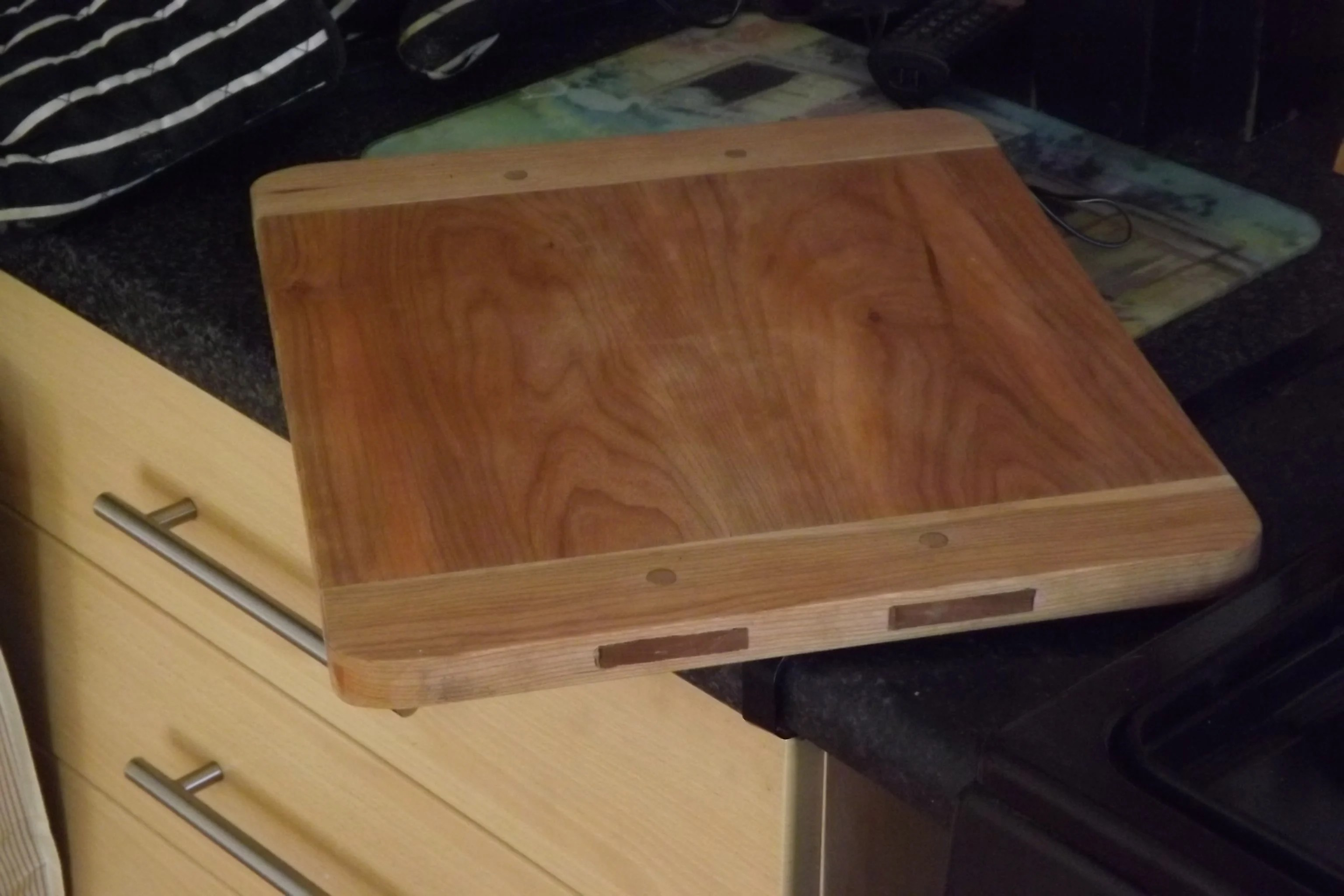 Breadboard-end Cutting Board by david o'sullivan