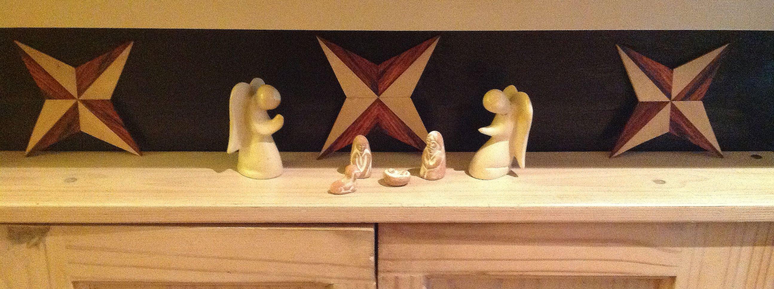 Christmas Stars by Jon Place