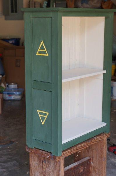 Alchemy Bookcase by Richard Egg