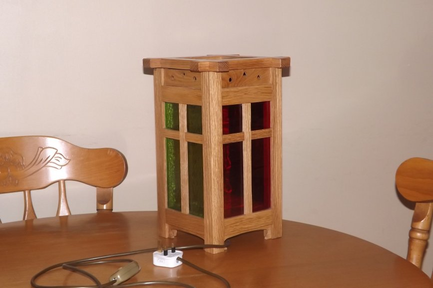 Craftsman-style Lamp by david o'sullivan