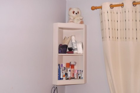 Corner Shelf by david o'sullivan
