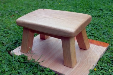 Footstool by chemical_cake