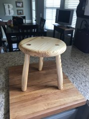 Milking Stool by Eric Brown