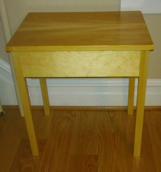 Pine End Table by greitzera