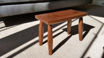 Footstool by Chad Magiera