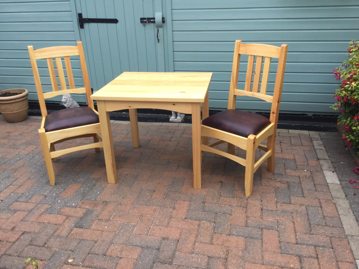 Dining Chairs and Table by rayc21