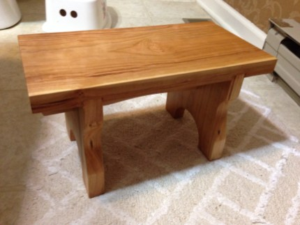 Shaker stool by troywoodyard