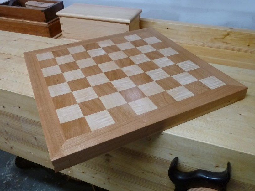 Chessboard by Dave Robbie