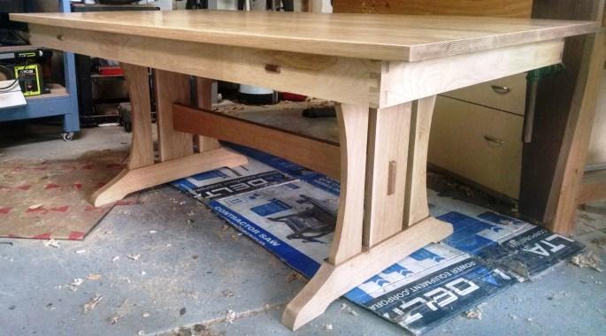 Trestle Table by jmeir248