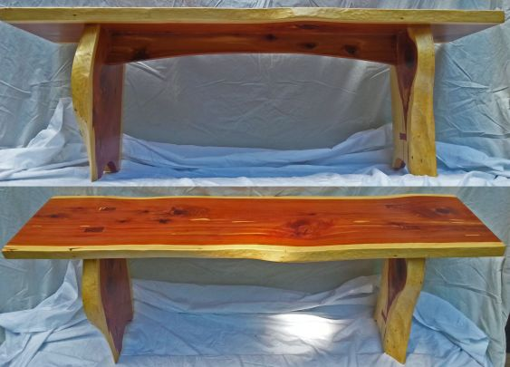 Cedar Bench by mercified
