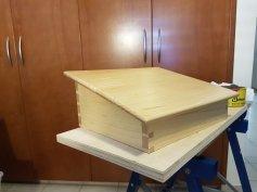 Desk Foot Stool by Tassos Aristidou