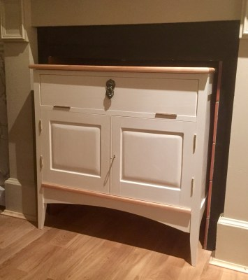 French Chic Living Room Storage Unit by Jon Place