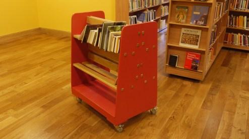 Library Book Trolley by Ian Lambert