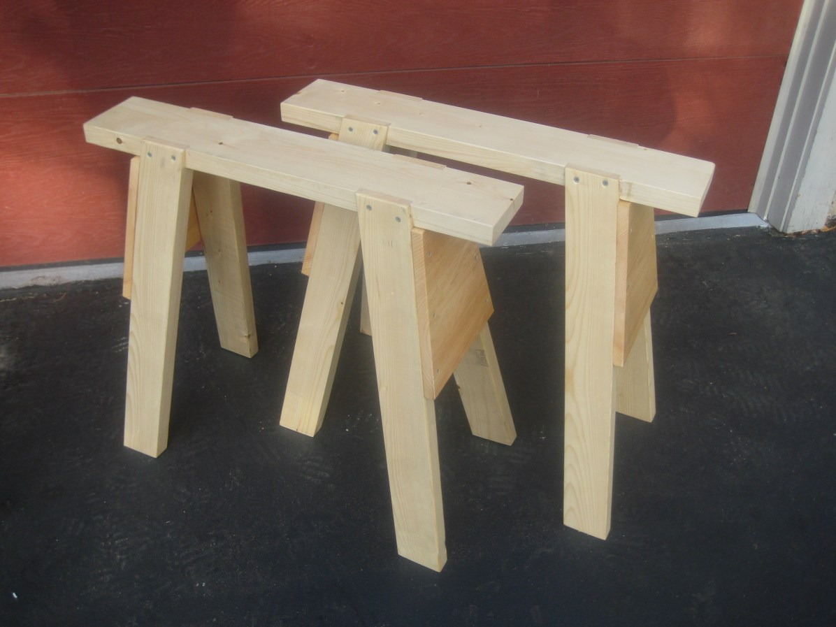 Sawhorses by sparky
