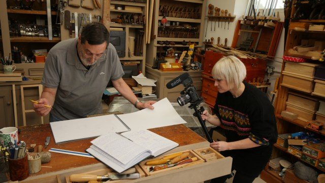 Eloise, Videographer at Woodworking Masterclasses