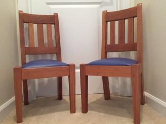 2 Children Chairs in Cherry
