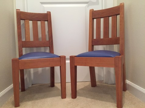 2 Children Chairs in Cherry