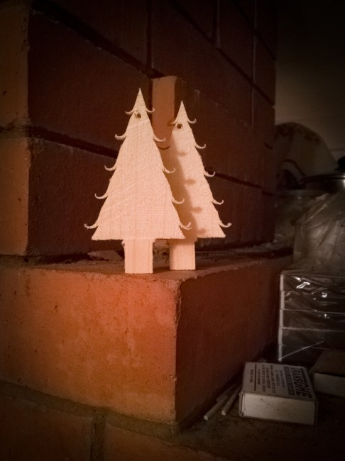 Christmas Trees by Misha