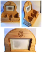 Special picture frame, and a Dovetail Box