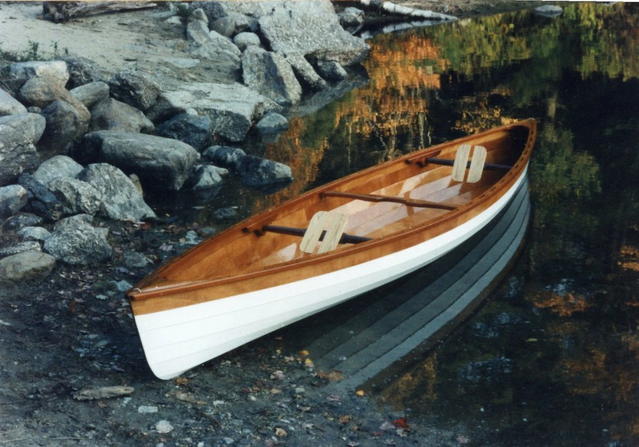 Lapstrake Canoe by Louye2