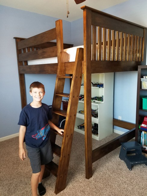 Loft Bed by Vincent Loschiavo