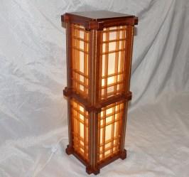 Japanese inspired lamp