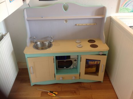 Granddaughters kitchen