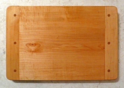 hard maple; mineral oil & beeswax