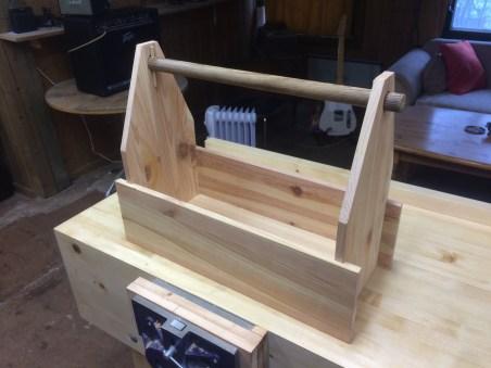 Repurposed old ikea drawers