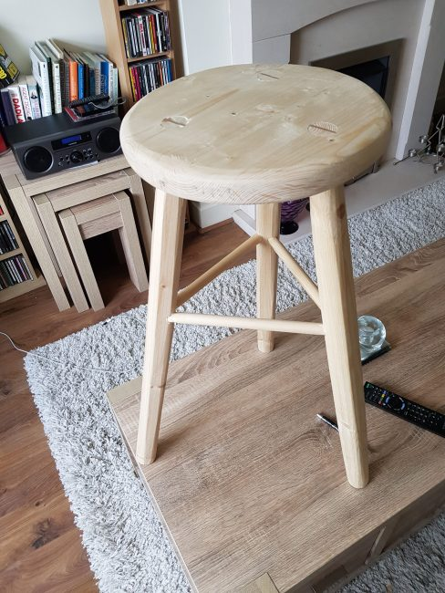 Bench Stool by David Barker
