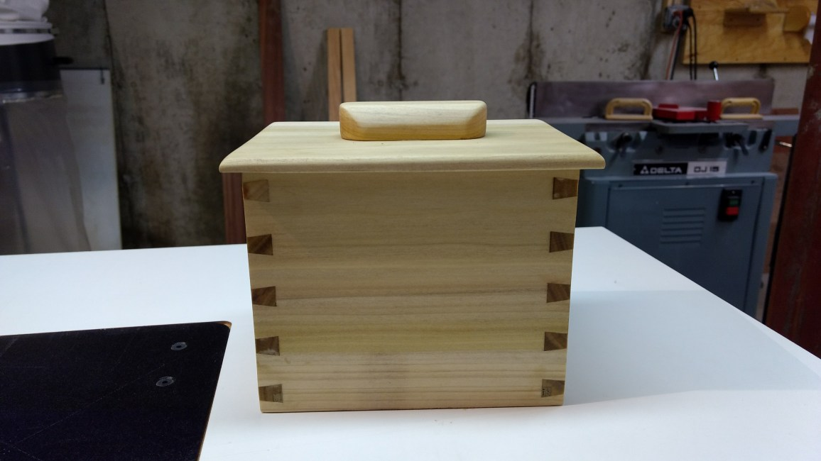 Dovetail Box by Dennis O'Shea