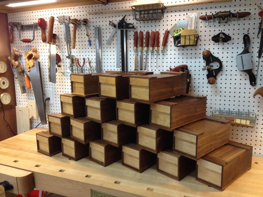 Japanese-style Carpenter Boxes by Joe