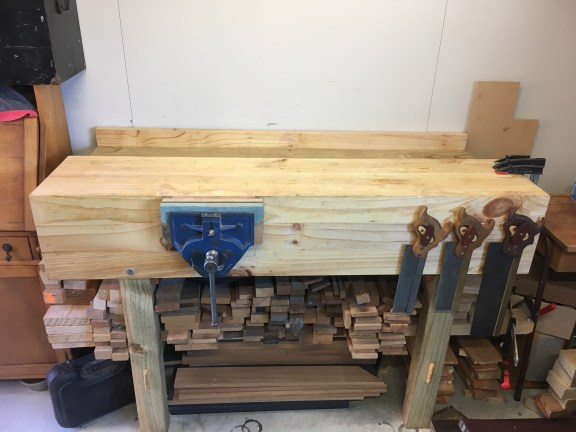 Boxing grade pine with recycled treated pine legs
