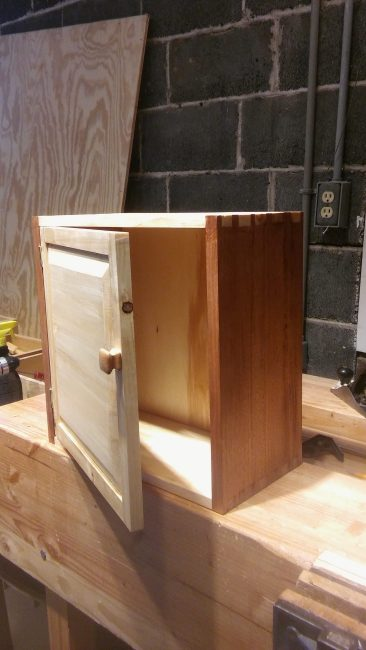 Coffee and Tea Cupboard by Anthony