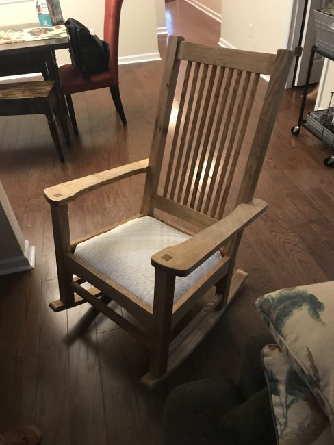 Rocking Chair by Julian