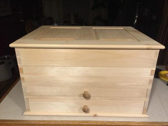 I used northern white pine from New England